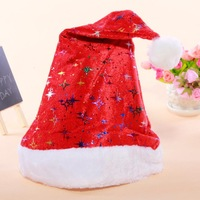 12pcs/lot New Year christmas decorations colorful doji cap Santa hats special performances Christmas hats