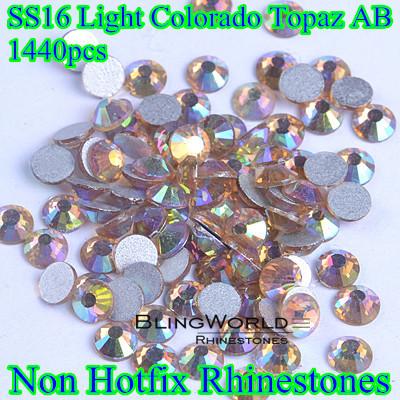 Стразы для одежды BlingWorld Rhinestones 1440 SS16 AB super shiny 5000p ss16 4mm crystal clear ab non hotfix rhinestones for 3d nail art decoration flatback rhinestones diy