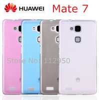 HUAWEI Ascend Mate 7 mate7 phone Protective Pudding Silicon TPU case / Screen protector film Free shipping