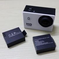 Camcorder Camera  Original SJ4000 3.7V Li-on 900mAh Backup Rechargable Battery For SJ4000   33*28*11mm