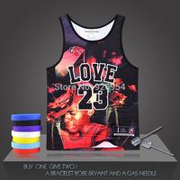 New Brand Michael Jordan Basketball Vintage Super Stars Chicago Male Tank Tops Clothing Cotton Men Sports Vest