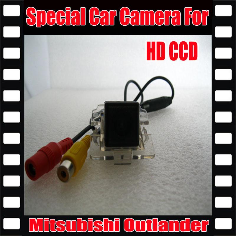 HD CCD Car Rear View Camera back up Camera Reverse Parking Camera for Mitsubishi Outlander night vision waterproof Camera(China (Mainland))