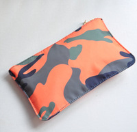 men and women fashion camouflage bag Nylon day clutch Small Cosmetic Bags high quality brand