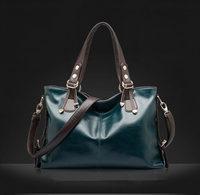 2015 women messenger bags new women handbag fashion genuine leather bag portable shoulder bag crossbodybolsas women leather bag