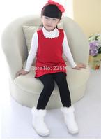 2014 New Girl Warm Pants Girl Legging Baby Kids Leggings High Flexibility