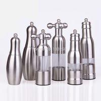 Stainless steel pepper mill pepper mill faucet black pepper dismembyator manual salt mill seasoning bottle
