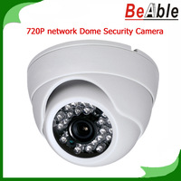 720P HD IP Camera P2P Function Mobile Remote Indoor Use Day & Night Network Security Dome eyeball Camera Surveillance