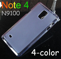 protective silicon pudding TPU case / Screen protector For Samsung Galaxy Note 4 N9100 Free shipping