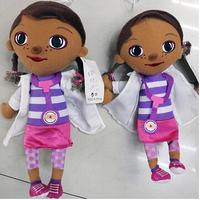 Hot Sale Cute Stuffed Doll For Children Gifts  28CM Doc Mcstuffins KidsPlush Toy Doctor Juguetes Girl Christmas Gift SRWJ5006