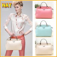 New Fashion Genuine Leather Women Handbag Brand Shoulder Bags Solid Women Messenger Satchel Tote Bolsas Travel Bags