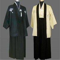 National costume costume stage outfit of traditional Japanese samurai men's kimono