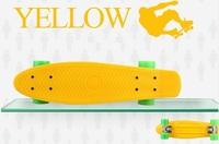 "Blue Penny Style Skateboard 22"" Complete original Retro Cruiser Backpack mini longboard girl boy skate fish long board"