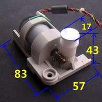 2pcs DC 3V 6V 12V encoder speed motor Worm gear motor AB phase 888