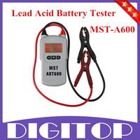 2014 Best MST-A600 12V Lead Acid Battery Tester Battery Analyzer Free Shipping
