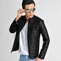 Mens Winter Plus Size PU leather Casual Slim Jacket Coat Outwear Man Brand New Jackets Big Size m l xl xxl xxxl xxxxl xxxxxl