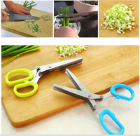 Stainless Steel Kitchen Scissors Spices Porphyrilic Broken Paper Scissors