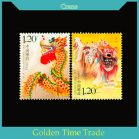 Dragon-lion Dance , 2007 China Postage Stamps For Collecting