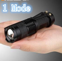 Brand SIPIK CREE Q5 Sk68 120LM Mini Led Flashlight Zoomable 1 Mode Waterproof Pocket Torch Free Shipping
