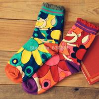 New calcetines retro Sen Department of Ethnic Japanese stitching socks socks  10321