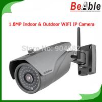 Security Protection WIFI IP Camera 1Megapixel Outdoor 36 pcs IR Lens P2P Mobile Surveillance IP Camera Wireless