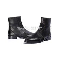 NEW Winter Keep warm Velvet Short tube Side zipper The woman Knight boots Low heels Tip brand women winter boots FREE SHIPPING