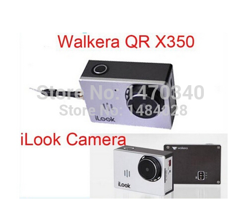 Free Shipping Original Walkera iLook Camera for Quadcopter QR X350 Pro Drone Heliopter VS Gopro Camera for 2015(China (Mainland))