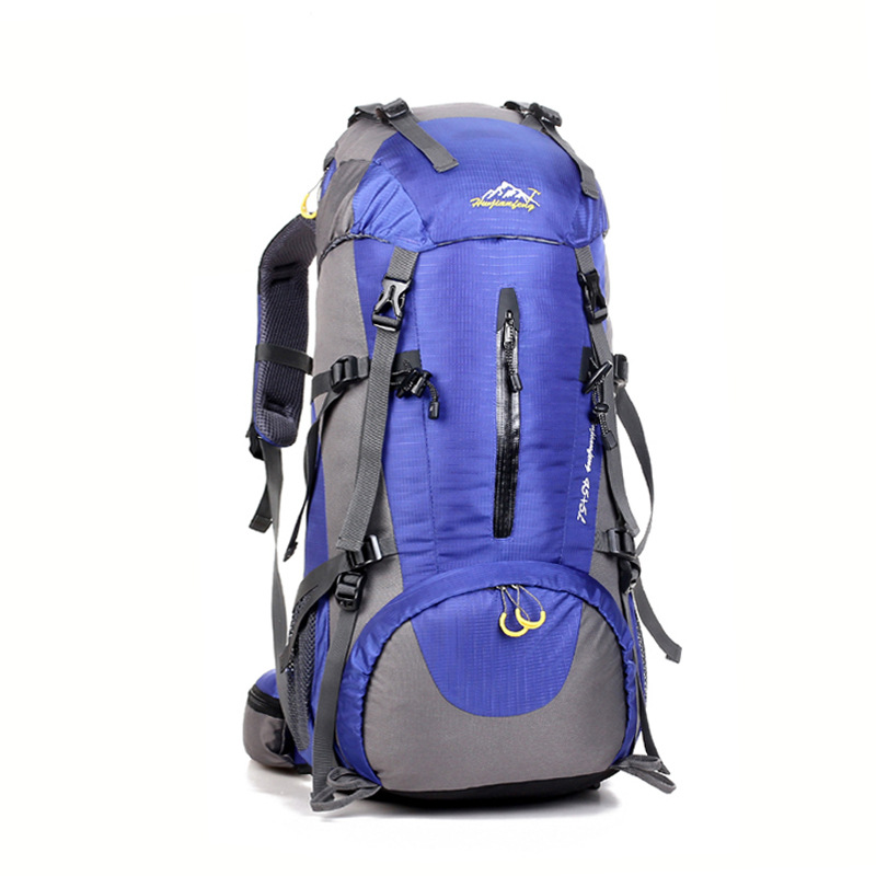 2014 new outdoor sports backpack large capacity 50L climbing bag Mountaineering bag Ski packages Outdoor camping package(China (Mainland))