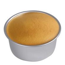 6 polegada sanduíche bolo Baking Tin Pan Mould caixa redonda profunda solto Base de alumínio de fundo E6660(China (Mainland))
