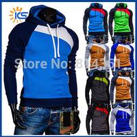2014 New Brand Autumn Winter Men Hooded Sweatshirt Diamond Hoodie Thicker Fleece Outdoor Sports Mens Tracksuits Free Shipping