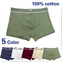 New 5 Pairs Pack Boys Cotton Spandex Boxer Briefs Shorts Underwear