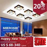 Modern LED Ceiling Light Fixture Glass LED Ceiling Lamp for Hallway Corridor Fast Shipping