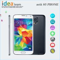 "New S5 mobile Phone I9600 2G Ram 32gb Rom Mtk6592 Octa Core i9600 Mobile 5.1"" 1920*1080 16mp Waterproof Healthcare Fingerprint"
