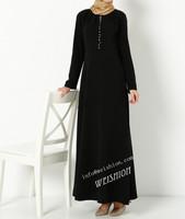 2014 new design abaya turkish abaya muslim long dress abaya free shipping