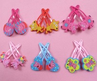 FACTORY PRICE 10 Kinds Hairpin Elsa Hairclips Girl Headwear/Hair Accessories barrettes for children Christmas Gifts  02