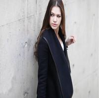 Fashion 2015 Winter Coat Woemn Female Warm Woollen Long Sleeve Overcoat Fashion Trench Wool Coats 8 color S-XXXL