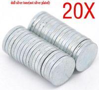 Dorabeads 20PCs Super Strong Neodymium Disc Magnets 8x1mm