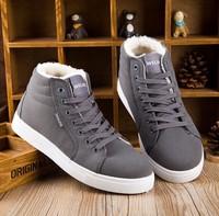Warm winter cotton padded shoes fashion shoes men Ma Dingxue British Korean high help men casual shoes shoes 1160