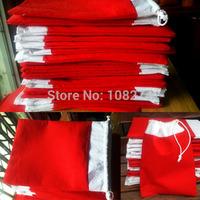 X-mas Christmas Bag Children Gift Bag,Drawstring Pouches,Christmas tree decoration bag