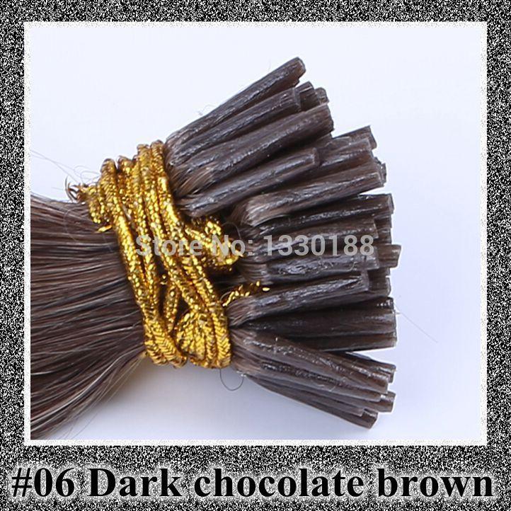 "18"" 20"" 22"" 24"" 50G/pack pre bonded stick hair I tip Keratin hair extensions 100% natural Hair black brown blond free shipping(China (Mainland))"