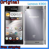 Original Lenovo K900 Smartphone Intel Powered 2.0GHz 5.5 Inch IPS Screen RAM 2GB ROM 16GB Android 4.2 Smart Phone