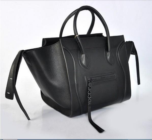 Guaranteed 100% Genuine leather handbag women famous brand genuine leather handbag Brand name Bat Bag tote bag handbags 2015 new(China (Mainland))