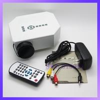 White UC30 Home Theater 3D Cinema 150lumens 500:1 1080P HD HD USB Digital LED Multimedia Projector