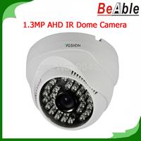 Security Camera 720P 1.3MP Plastic Dome housing 30 pcs IR LEDs 3.6 mm lens Compatible with DVR AHD Camera CCTV