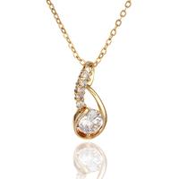 2015 new hot Platinum plating white stone pendants shiny  suspension pendant