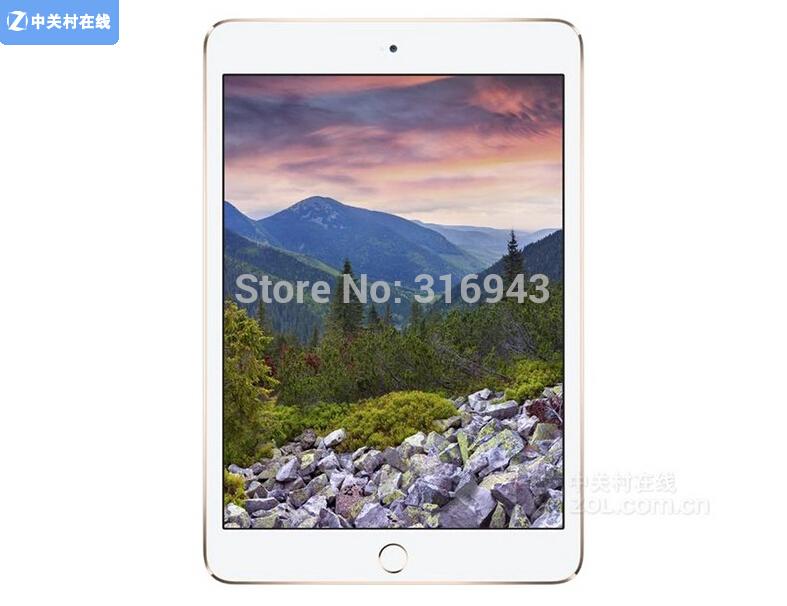 2015 Hot Sale 100% Original Apple iPad mini 3 16GB 64G 128G WiFi 4G 7.9 inches 2048x1536 Dual- core 16GB free shipping Instock(China (Mainland))