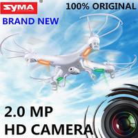 Original SYMA X5C X5 2.4G 4CH 6-Axis 2.0MP HD Camera RTF Remote Control Quadcopter RC Helicopter Toys Professional Dron