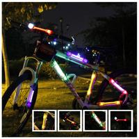 Bike Light Cheap Wholesale Price ! Bicycle Laser Tail Light  Modes Mountain Bike Safety Back Rear Led Light