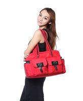 2014 European fashion microfiber multi-fuction multi-pocket Mommy bags Mama bags women 4 colors free shipping