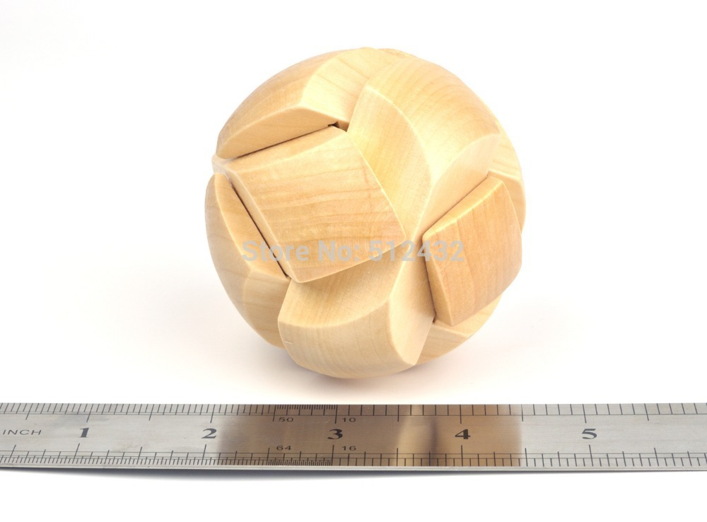 3d Wooden Cube Puzzles 3d Wooden Football Cube