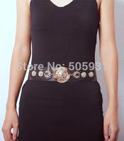 Vintage Head Portrait Belt Adjustable Fashion Women Accessories